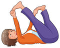 Free Yoga Position. Stock Image - 24800671