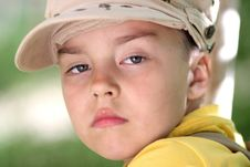 Free Portrait Of The Boy Stock Images - 24800454