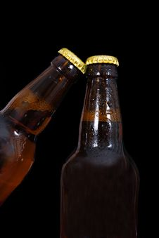 Free Bottles Of Beer Stock Photo - 24801920