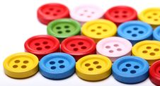 Free Many Colorful Buttons Stock Images - 24802554