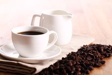 Free Cup Of Hot Coffe Royalty Free Stock Photography - 24802687