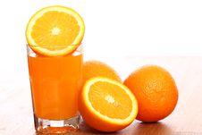 Free Fresh Orange Juice Stock Photography - 24802782