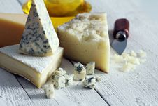 Fresh And Delicious Cheese Stock Photography