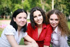 Free Three Friends Stock Image - 24804051