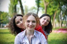 Free Three Heads Stock Photography - 24804292