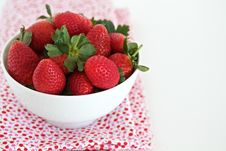 Free Strawberries Royalty Free Stock Photo - 24805445