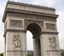 Free Arc De Triomphe, Paris Stock Images - 24819534