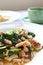Free Kale Fried With Tofu Stock Photo - 24811000