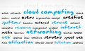 Free Cloud Computing Word Cloud Stock Photography - 24827342