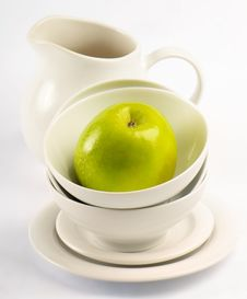 Free Healthy Food - Green Apple Royalty Free Stock Photography - 24820697
