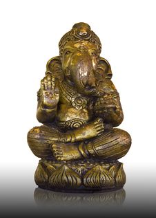 Free Statue Of Ganesh. Stock Photography - 24821602