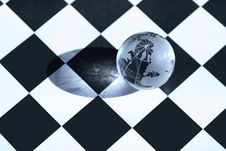 Free World Chess Game Royalty Free Stock Image - 24824326