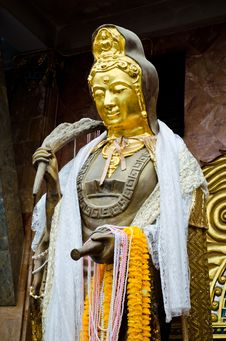 Free Buddhist Bodhisattva Image Royalty Free Stock Photography - 24826567