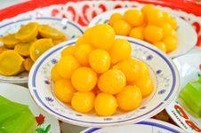 Free Thai Dessert Royalty Free Stock Photo - 24827015