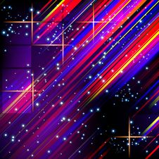 Free Abstract Lines Design On Dark Background. Stock Photo - 24828110