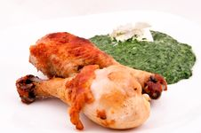Chicken Legs Royalty Free Stock Photography