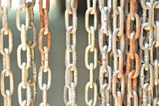 Free Rusty Steel Chain Stock Photos - 24829743