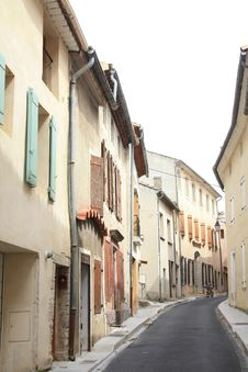 Streetview In The Provence Royalty Free Stock Photo
