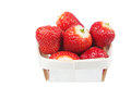 Free Strawberries In Basket. Royalty Free Stock Images - 24830839