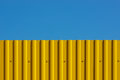 Free Yellow Decking And Blue Sky Royalty Free Stock Photo - 24839845