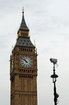 Free Big Ben Security Camera Stock Photos - 24830663