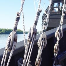 Free Ship Rigging Royalty Free Stock Images - 24831519