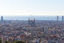 Free View Of Barcelona Stock Photos - 24832033