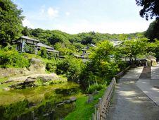 Free Kamakura S Temple Landscape Royalty Free Stock Photos - 24833268