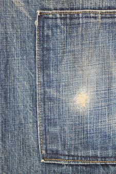 Free Blue Jeans Pocket Stock Photos - 24835543
