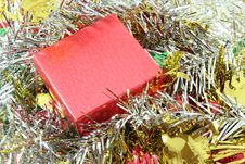 Free Red Gift Box Royalty Free Stock Images - 24838649