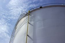 Free Oil Tank Closeup Stock Photo - 24838930