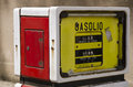 Free Old Gas Pump In Sardinia Stock Images - 24843124