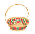 Free Bamboo Basket Stock Photography - 24843832