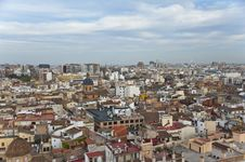 Free Valencia From Above. Royalty Free Stock Images - 24841609