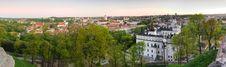 Free Panorama Vilnius Stock Photo - 24842470