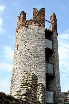 Free Tower In A Medieval Castle Royalty Free Stock Image - 24843176