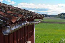 Free Old Red Tiles Stock Photography - 24846002