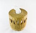 Free Empty Wooden Basket Royalty Free Stock Photos - 24850138