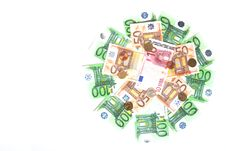Free Banknotes And Coins Royalty Free Stock Photos - 24851618
