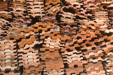 Free Red Brick Pack Royalty Free Stock Image - 24852896