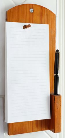 Free Telephone Note Pad Royalty Free Stock Image - 24853776