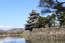 Free Matsumoto Castle, Japan Stock Photo - 24854710