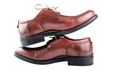 Free Man S Shoe. Stock Photos - 24857023