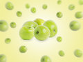 Free Group Of Green Apples Stock Images - 24863504