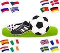 Free Football Set 03 Stock Image - 24864911