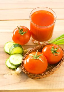 Fresh And Healthy Vegetables Stock Photos