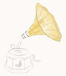 Free Gramophone Stock Photo - 24864740