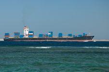 Free Cargo Ship Royalty Free Stock Photos - 24866658