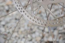 Free Bike Brake Disk Royalty Free Stock Image - 24866676