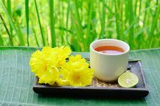 Free Aroma Lemon Tea Stock Image - 24868781